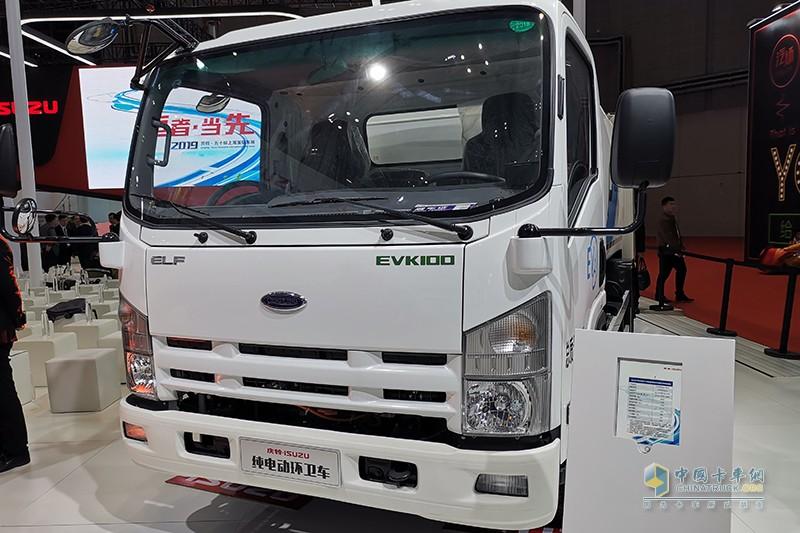 庆铃汽车 EVK100 纯电动 压缩式垃圾车