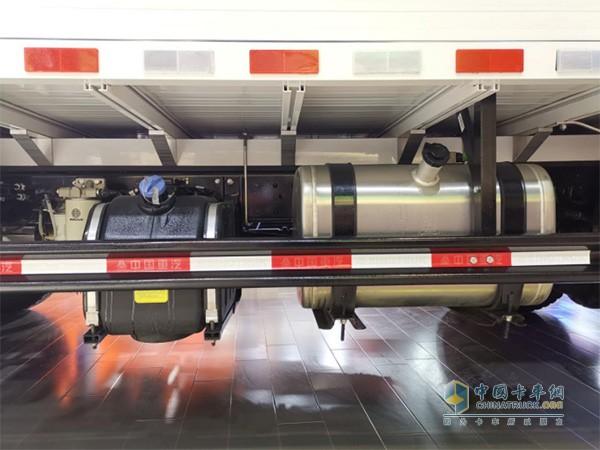 120L铝合金油箱
