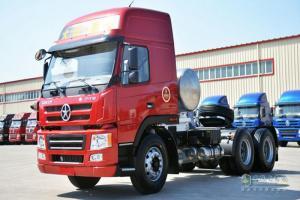 大运 新N8E重卡 400马力 6X4LNG牵引车(CGC4250N5ECGE)