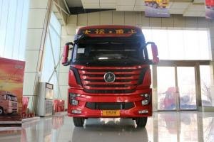 大运 新N8V重卡 400马力 6X4LNG牵引车(CGC4250N5ECGE)