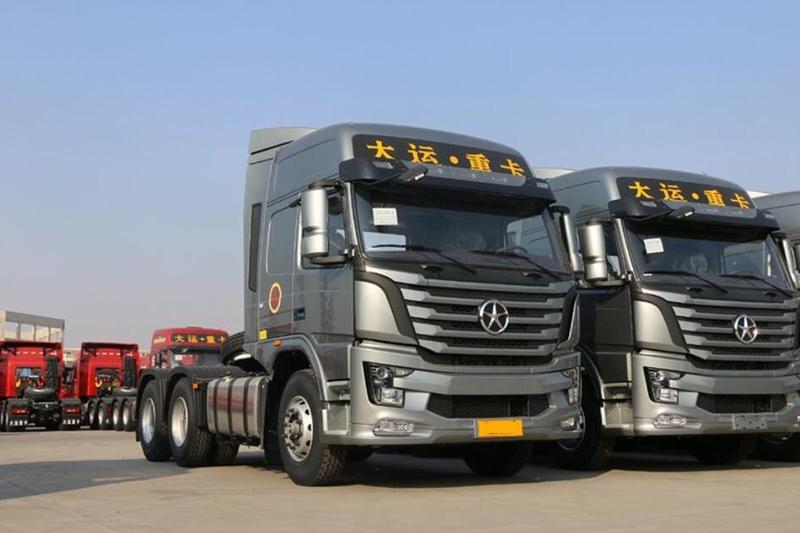 大运 N8V重卡 460马力 6X4牵引车(16T双极桥)(CGC4250D5FCCE)