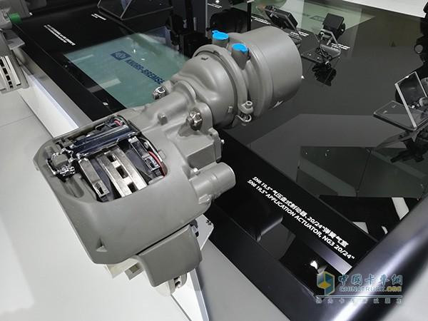 克诺尔气压盘式制动器