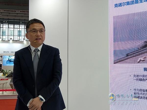克诺尔商用车亚太区总裁徐保平