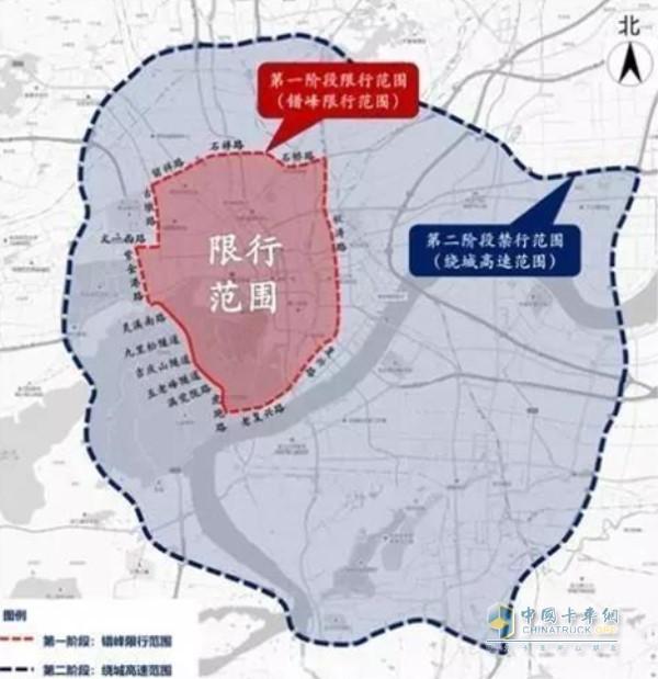 杭州分阶段限行国三柴油货车