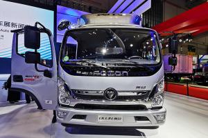 福田奥铃 CTS 超越版 4×2 国六 厢式载货车 5.15米货箱