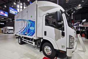 庆铃汽车 ELF 120马力 4×2 厢式载货车