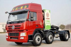 大运 新N8E重卡 380马力 6X2 LNG牵引车(CGC4253N53BA)