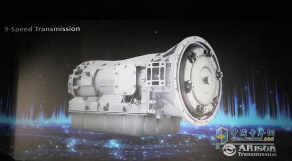 艾里逊中型全自动9速全自动变速箱