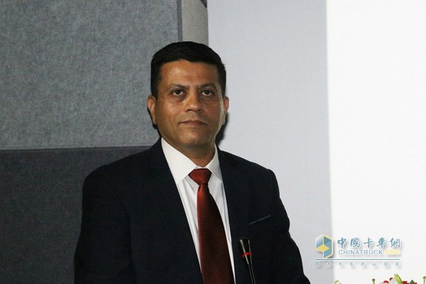 艾里逊变速箱亚太区销售执行总监Ashwin Gopalaswamy