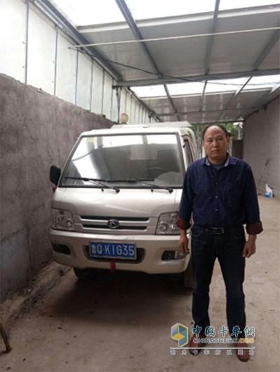 张文豪父亲与自家的时代驭菱