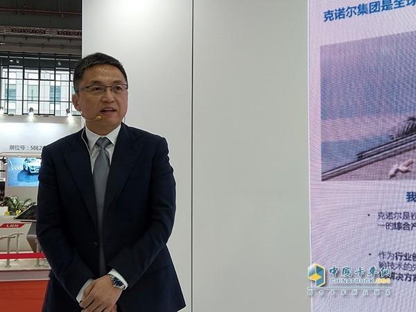 克诺尔克诺尔商用车系统亚太区总裁徐保平