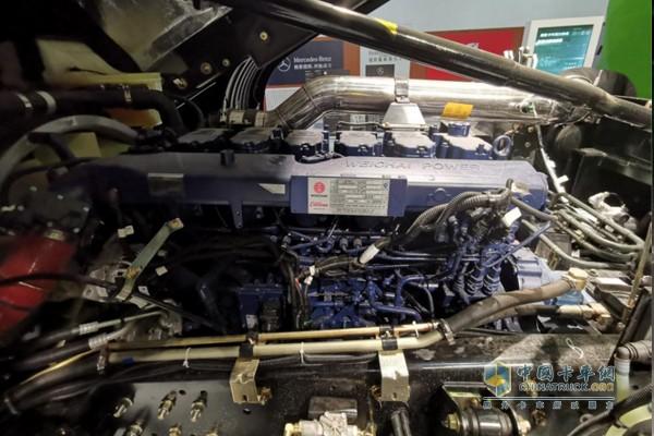 搭载潍柴WP12国六b发动机,400ps输出