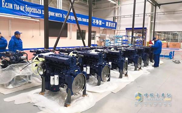 潍柴马兹发动机项目建成并试生产