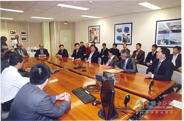 2009年潍柴动力股份有限公司成功收购法国百年企业博杜安发动机公司
