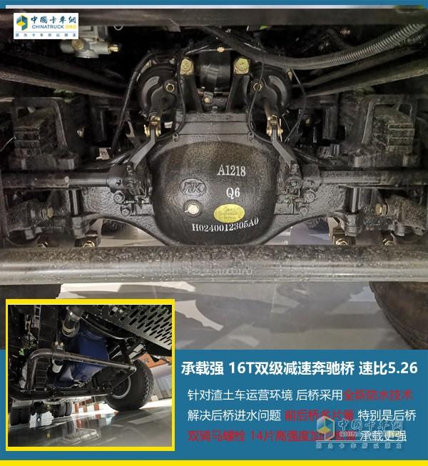 欧曼GTL 2019款国六b渣土车