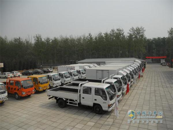 北京忠信庆铃汽车贸易有限公司的庆铃五十铃车型