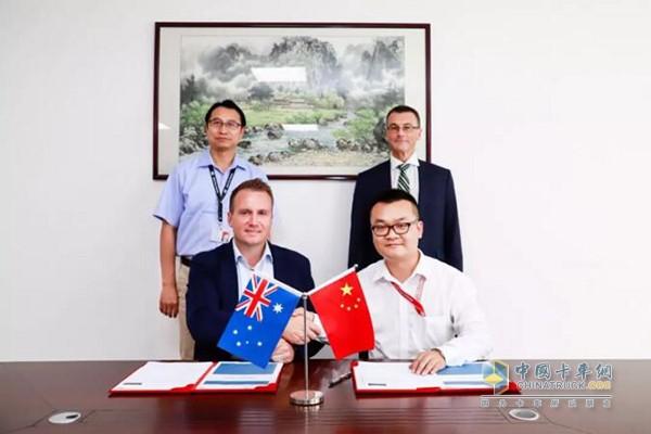比亚迪签约澳大利亚历史上最大单笔电动卡车订单