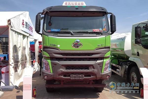 乘龙H7 LNG渣土车