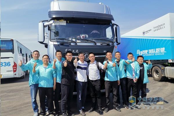 东风商用车技术试验团队