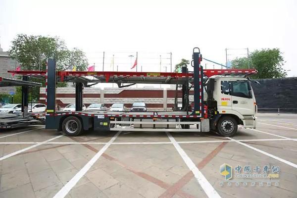 欧曼新ETX中置轴轿运车