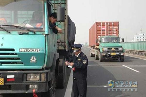 5月23日起山东泰安辖区高速公路49吨以上超限货车禁行