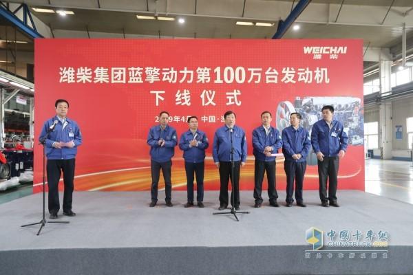 2019年3月份潍柴发动机产销突破10万台