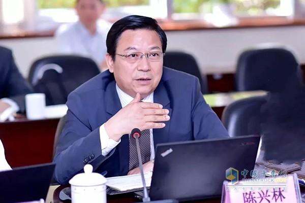 东风汽车副总裁、东风零部件集团董事长、总经理陈兴林