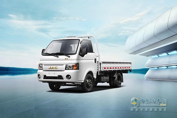 江淮轿卡汽油版满足国六排放标准