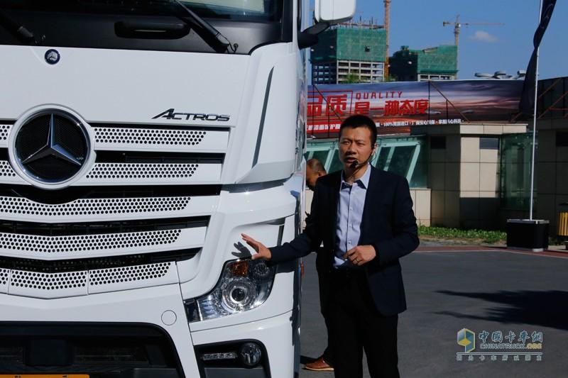 戴姆勒卡客车(中国)车队管理和培训经理彭杰先生