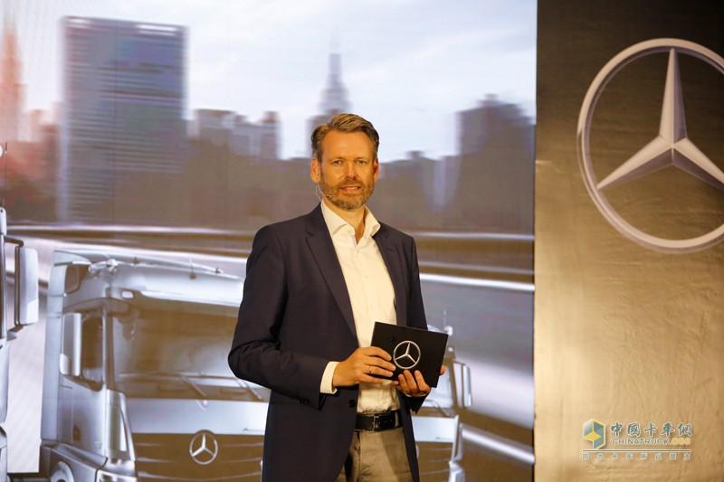 戴姆勒卡客车(中国)有限公司CEO科锐铭先生(Ralf Kraemer)