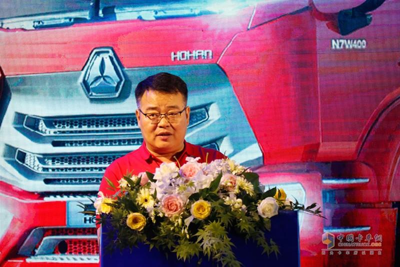 中国重汽(香港)有限公司副总裁刘培民先生