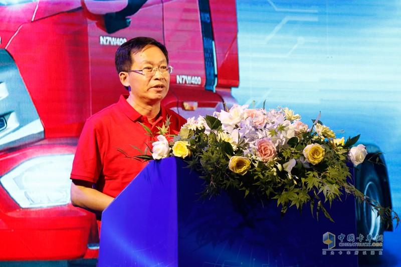 潍柴动力股份有限公司副总裁冯刚先生