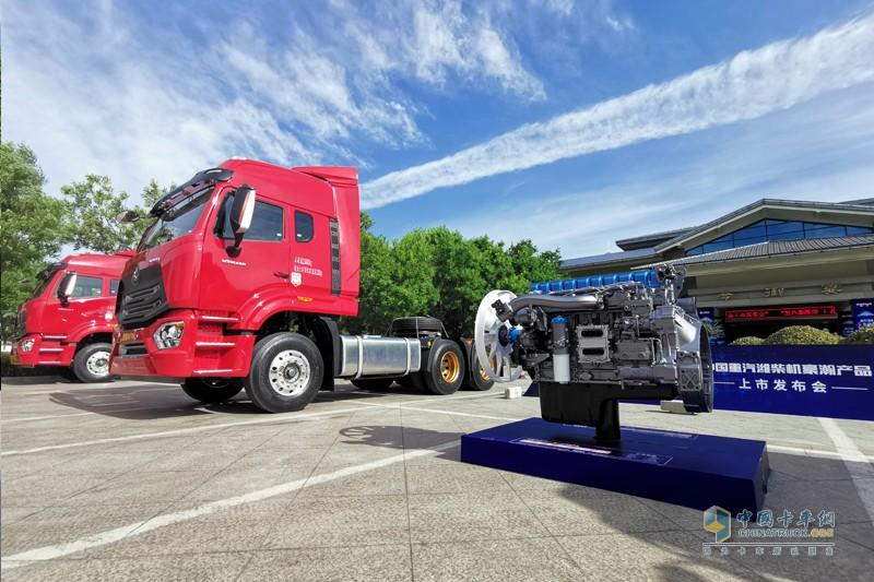 中国重汽匹配潍柴发动机,核心目的是补短板,促增量。产品融合了国内重卡最优质的底盘资源与最优质的动力资源