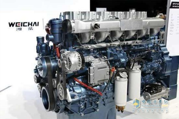潍柴WP12.430E50发动机