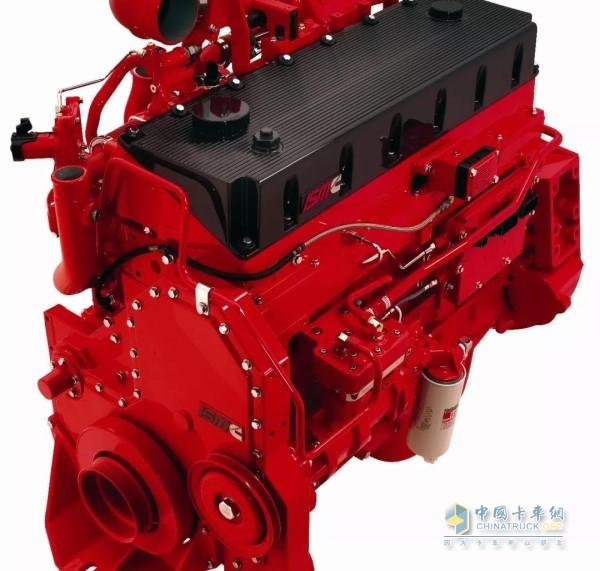 西安康明斯生产的ISM 11L发动机