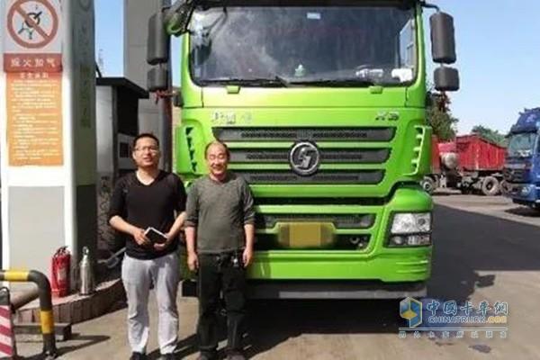 程老板選擇軒德X3 LNG牽引車