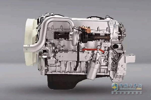 搭载CURSOR 9L发动机