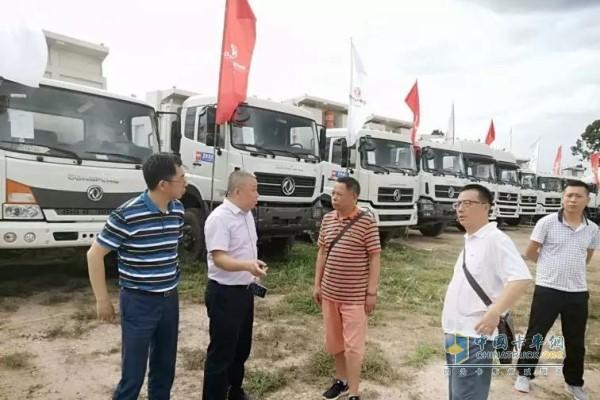 老挝政府对东风重卡市场大力扶持