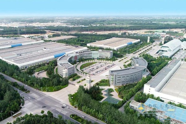 潍柴工业园俯视图