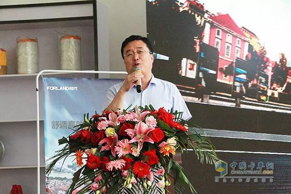 时代事业部营销公司销售副总经理王小凯