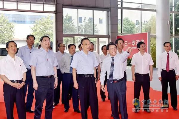2018年6月12日总理访问三一产业园