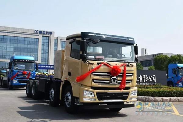 徐共漢風G7纯电动智能渣土车