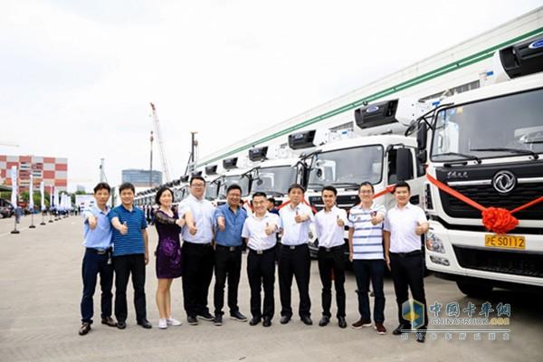 為健康中國助力 東風商用車為醫藥冷鏈物流提供服務