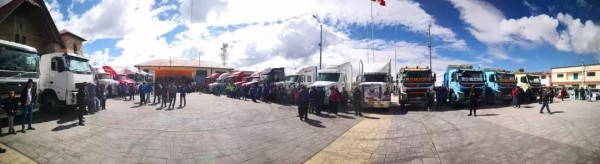 秘鲁高原全球知名重卡短距离竞速赛