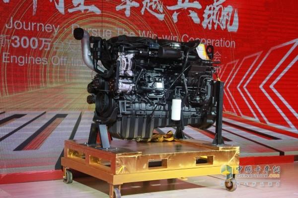 东风康明斯第300万台发动机下线暨国六产品上市仪式