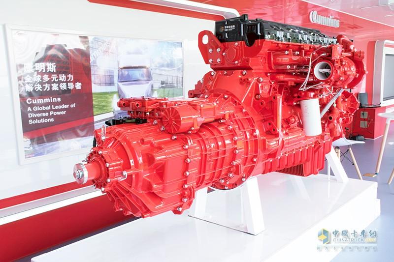康明斯14L发动机匹配伊顿AMT变速箱