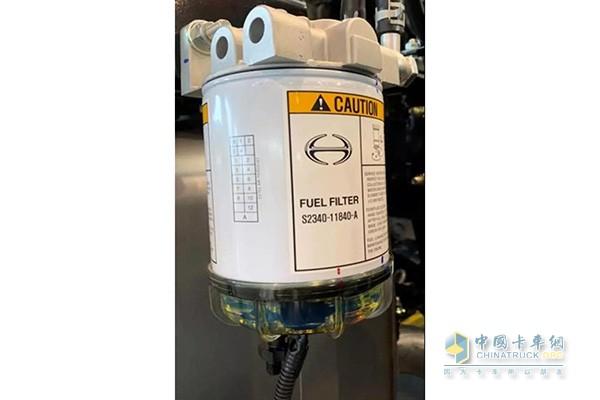 电加热式燃油滤清器