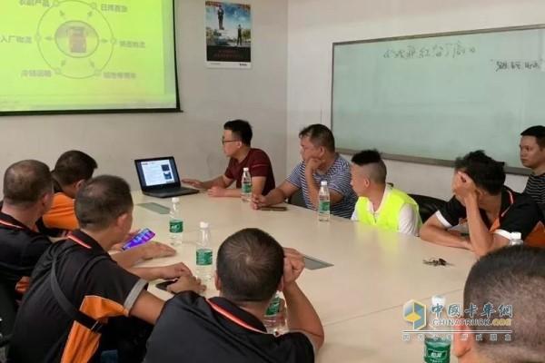 交车后会派专业工程师为用户进行详细讲解和培训