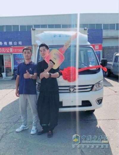 福田祥菱M2厢式货车用户李涛
