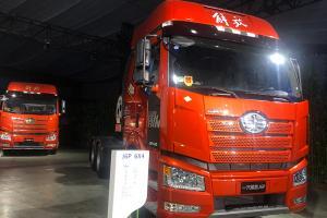 一汽解放 J6P 6×4 天然气牵引车(国六)